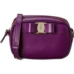 Salvatore Ferragamo Vara Bow Leather Camera Bag found on Bargain Bro India from Gilt City for $599.99
