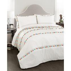 Triangle Home Boho Tassel Comforter Set found on Bargain Bro India from Gilt City for $139.99