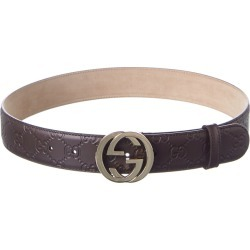 Gucci GG Leather Belt found on MODAPINS from Gilt City for USD $419.99