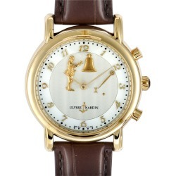 Ulysse Nardin Men's Leather Watch found on MODAPINS from Gilt for USD $44999.00