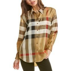 Burberry Carlotta Silk Shirt found on Bargain Bro Philippines from Ruelala for $909.99