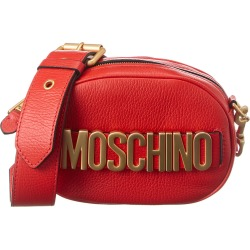 Moschino Logo Printed Leather Camera Bag found on Bargain Bro India from Gilt City for $619.99