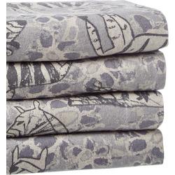 Belle Epoque Zebra Heather Flannel Sheet Set found on Bargain Bro India from Ruelala for $109.99