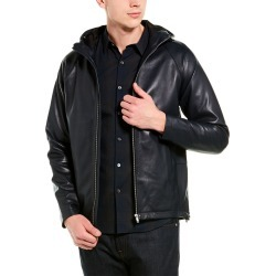 Theory Leather Jacket found on Bargain Bro India from Gilt City for $499.99