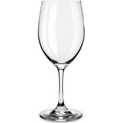True Taste Set of 4 Red And White Tasting Glass