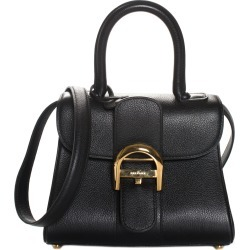 Delvaux Black Leather Brilliant Mini Handbag found on MODAPINS from Gilt for USD $2750.00