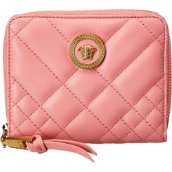 Versace Medusa Quilted Leather Zip Around Wallet found on Bargain Bro India from Ruelala for $399.99