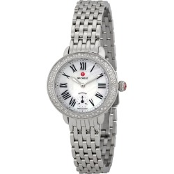 Michele Women's Stainless Steel Diamond Watch found on MODAPINS from Gilt for USD $1249.99