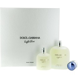 Dolce & Gabbana Men's Light Blue Pour Homme Gift Set found on Bargain Bro Philippines from Gilt City for $75.99