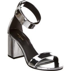 Balenciaga Ville Metallic Patent Sandal found on Bargain Bro India from Ruelala for $619.99