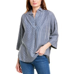 French Connection Julienne Pop Over Shirt found on MODAPINS from Gilt for USD $39.99