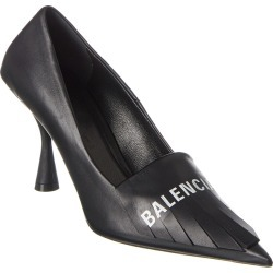Balenciaga Fringe Knife Leather Pump found on Bargain Bro India from Gilt City for $729.99