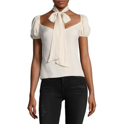 Lpa Bow Tie Silk Top found on Bargain Bro India from Gilt for $55.99