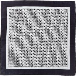 Burberry Monogram Silk Scarf found on Bargain Bro from Gilt City for USD $265.99