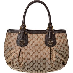 Gucci Brown GG Canvas & Leather Medium Scarlett Tote found on MODAPINS from Gilt for USD $850.00