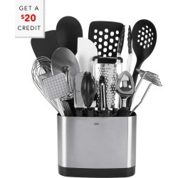 OXO 15pc Good Grips Everyday Kitchen Stainless Steel Tool Set