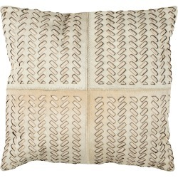 Safavieh Dash Cowhide Pillow found on Bargain Bro India from Gilt for $69.99