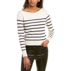 City Sleek Striped Sweater