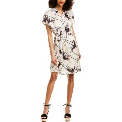 Equipment Leonce Silk Wrap Dress found on MODAPINS from Ruelala for USD $95.99