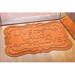Bungalow Flooring Aqua Shield Live Laugh Love Doormat