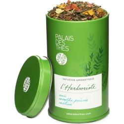 Le Palais Des Anise Peppermint Lemon LHerboriste Herbal Tea 2.8oz Metal Canister