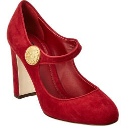 Dolce & Gabbana Vally Suede Mary Jane Pump found on Bargain Bro Philippines from Gilt for $349.99
