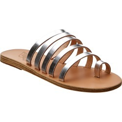 Ancient Greek Sandals Niki Metallic Leather Sandal found on MODAPINS from Gilt City for USD $119.99