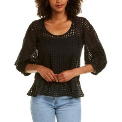 Club Monaco Eyelet Wrap Top found on Bargain Bro Philippines from Ruelala for $59.99