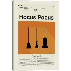 iCanvas Hocus Pocus by Prints and Giggles by Erin Hagerman Wall Art found on Bargain Bro Philippines from Ruelala for $49.99