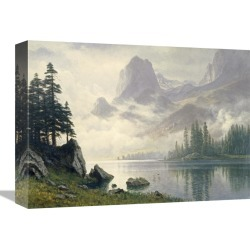 Global Gallery Mountain Out of The Mist by Albert Bierstadt found on Bargain Bro India from Gilt for $199.99