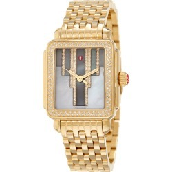 Michele Women's Stainless Steel Diamond Watch found on MODAPINS from Gilt for USD $2199.99