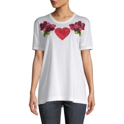 Dolce & Gabbana Heart Flower T-Shirt found on Bargain Bro Philippines from Gilt City for $299.99