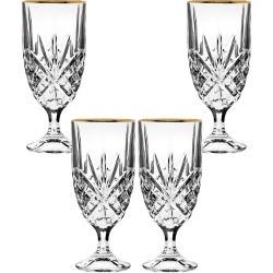 Godinger Dublin Set of 4 Iced Glasses found on Bargain Bro India from Gilt City for $21.99