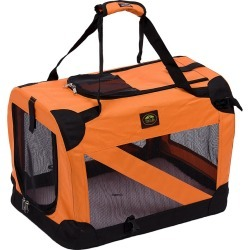 Pet Life Folding Zippered 360 Vista View House Pet Crate found on Bargain Bro Philippines from Ruelala for $59.99