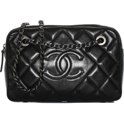 Chanel Black Quilted Leather Ballerine Camera Case found on Bargain Bro India from Gilt City for $2400.00