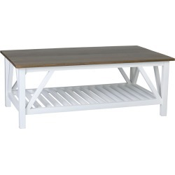 East at Main's Sterling Mango Wood Coffee Table found on Bargain Bro India from Gilt for $419.99