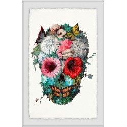 Marmont Hill Vibrant Flower Skull found on Bargain Bro Philippines from Ruelala for $379.99