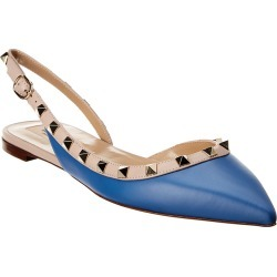 Valentino Rockstud Leather Slingback Ballerina Flat found on Bargain Bro Philippines from Ruelala for $599.99