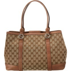 Gucci Brown GG Canvas & Leather Miss GG Tote found on MODAPINS from Ruelala for USD $1000.00