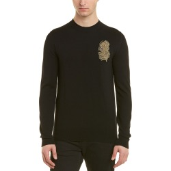 Alexander McQueen Feather Wool & Cashmere-Blend Crewneck Sweater found on MODAPINS from Gilt for USD $559.99