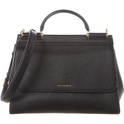 Dolce & Gabbana Sicily Medium Leather Shoulder Bag found on Bargain Bro India from Ruelala for $1845.99