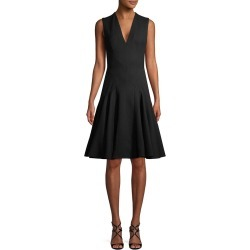 Alexander McQueen V-Neck A-Line Dress found on MODAPINS from Ruelala for USD $899.99
