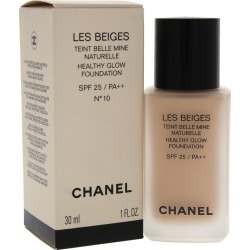Chanel 1oz #10 Les Beiges Healthy Glow Foundation SPF 25 found on Bargain Bro Philippines from Gilt City for $53.99