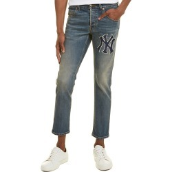 Gucci NY Yankee Blue Straight Leg found on Bargain Bro Philippines from Gilt for $695.99