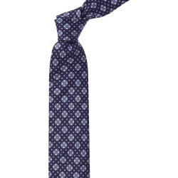 Canali Blue Squares & Dots Linen & Silk-Blend Tie found on MODAPINS from Gilt for USD $89.99