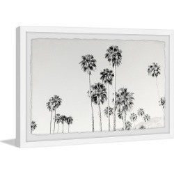 Marmont Hill California Palm Trees Framed Painting Print by Morgan Hartley found on Bargain Bro Philippines from Gilt City for $59.99