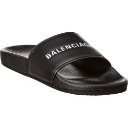 Balenciaga Leather Logo Slide found on Bargain Bro Philippines from Gilt for $349.99
