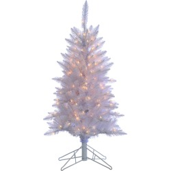 4ft White Tiffany Tinsel Tree found on Bargain Bro India from Gilt for $119.99
