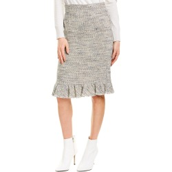 Rebecca Taylor Tweed Ruffle Skirt found on Bargain Bro India from Gilt City for $49.99