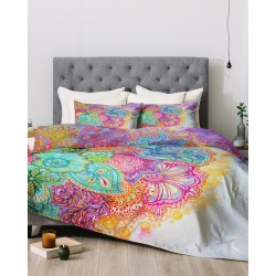Deny Designs Stephanie Corfee Bright Floral Comforter Set found on Bargain Bro Philippines from Gilt for $159.99